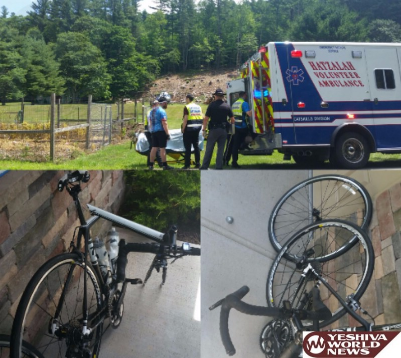 PHOTOS: Bike4Chai Rider Collides With Deer In Sullivan County - Airlifted To Trauma Center