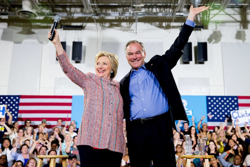 Hillary Clinton Chooses Va. Sen. Tim Kaine As Running Mate