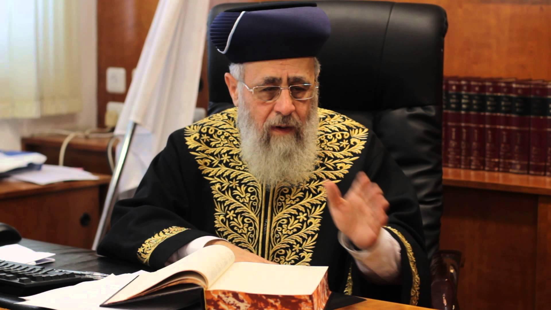 Rishon L'Tzion On Rabbonim Who Partake In Chasunah Merriment
