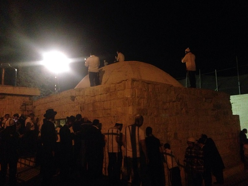 Dozens of Breslov Chassidim Come Under Attack At Kever Yosef: Visiting Without Coordinating With The IDF