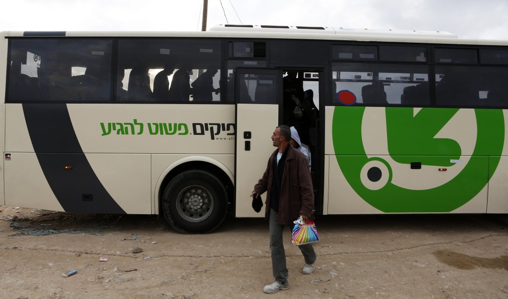 Brawl Between Arab Bus Driver And Passengers On Bus From Jerusalem To Bnei Brak