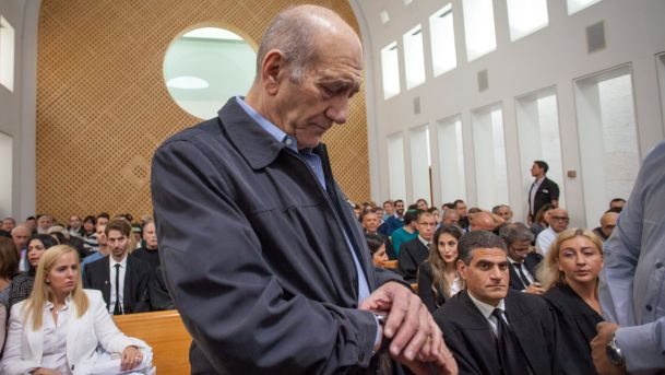 Olmert Files To Get Out Of Jail Early