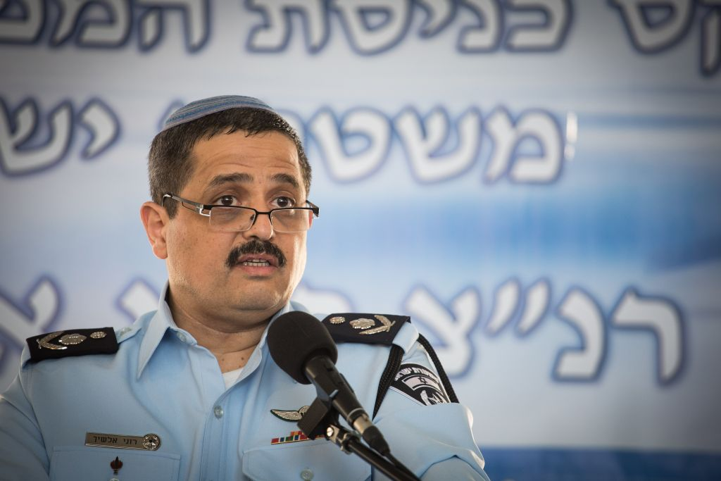 Police Chief Alsheich Clarifies His Controversial Remarks Which Are Interpreted As Racist