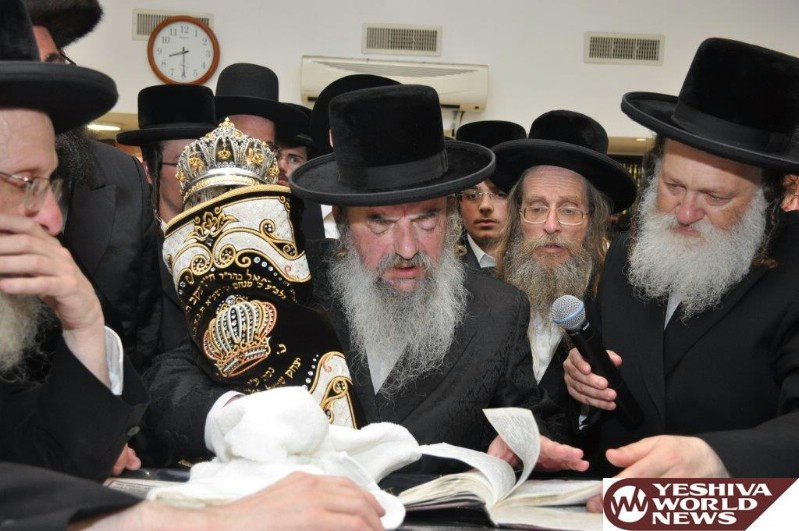 Photo Essay: Hachnosas Sefer Torah To The Lelov Shul In Bnei Brak (Photos by JDN)