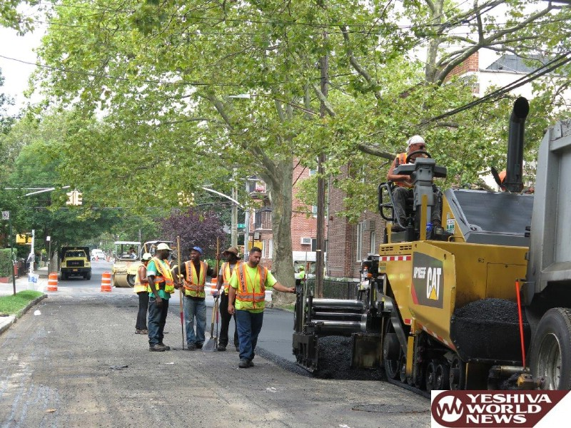 Photo Essay: Construction On The Boro Park Streets (Photos by JDN)