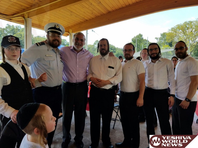 PHOTOS: Hikind Honors U.S. Coast Guard Volunteer Jack Rosenberg One Year After Cresskill Plane Crash