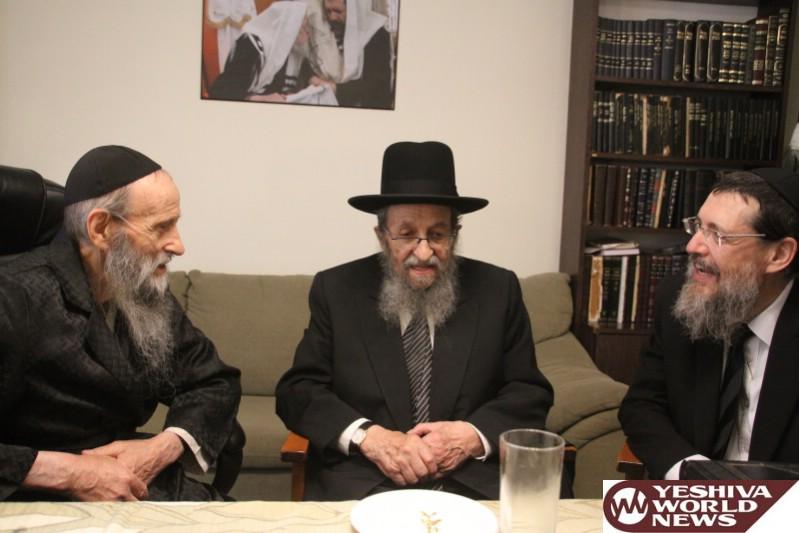Photo Essay: Hagaon HaRav Shmuel Kamenetzky Visits Hagaon HaRav Kook In Yerushalayim (Photos by JDN)
