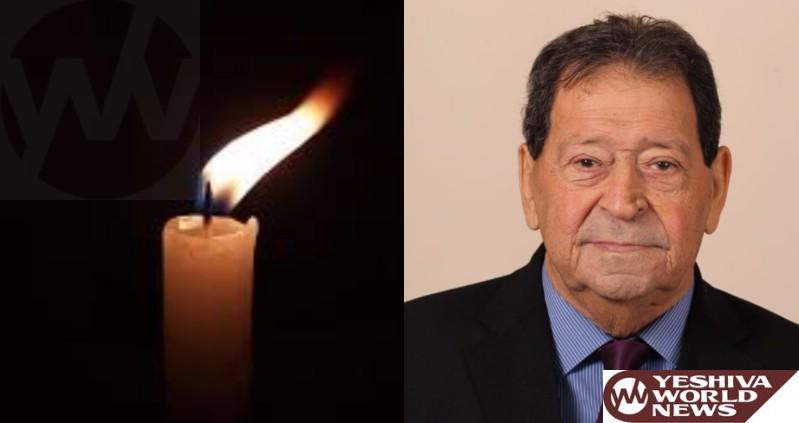 Former Defense Minister Binyamin Ben-Eliezer Dies At 80