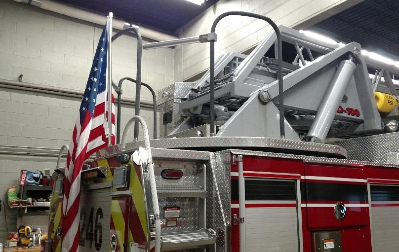 US Flags Ordered Removed From Upstate New York Fire Trucks