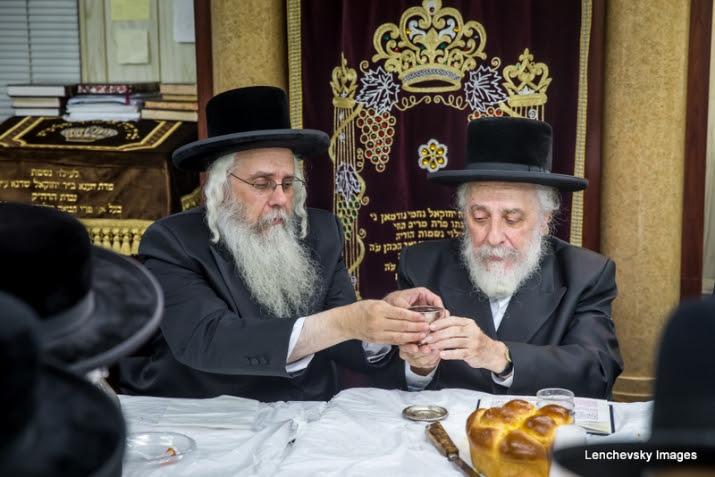 Yahrtzeit Of Rav Tzvi Hersh Of Liska Observed