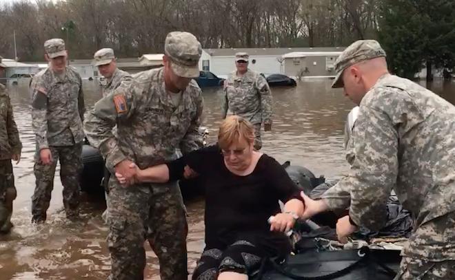White House Says Feds Doing Their Part In Louisiana Flood Response