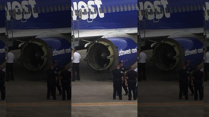 Southwest Plane Makes Emergency Landing After Engine Falls Apart Mid-Flight