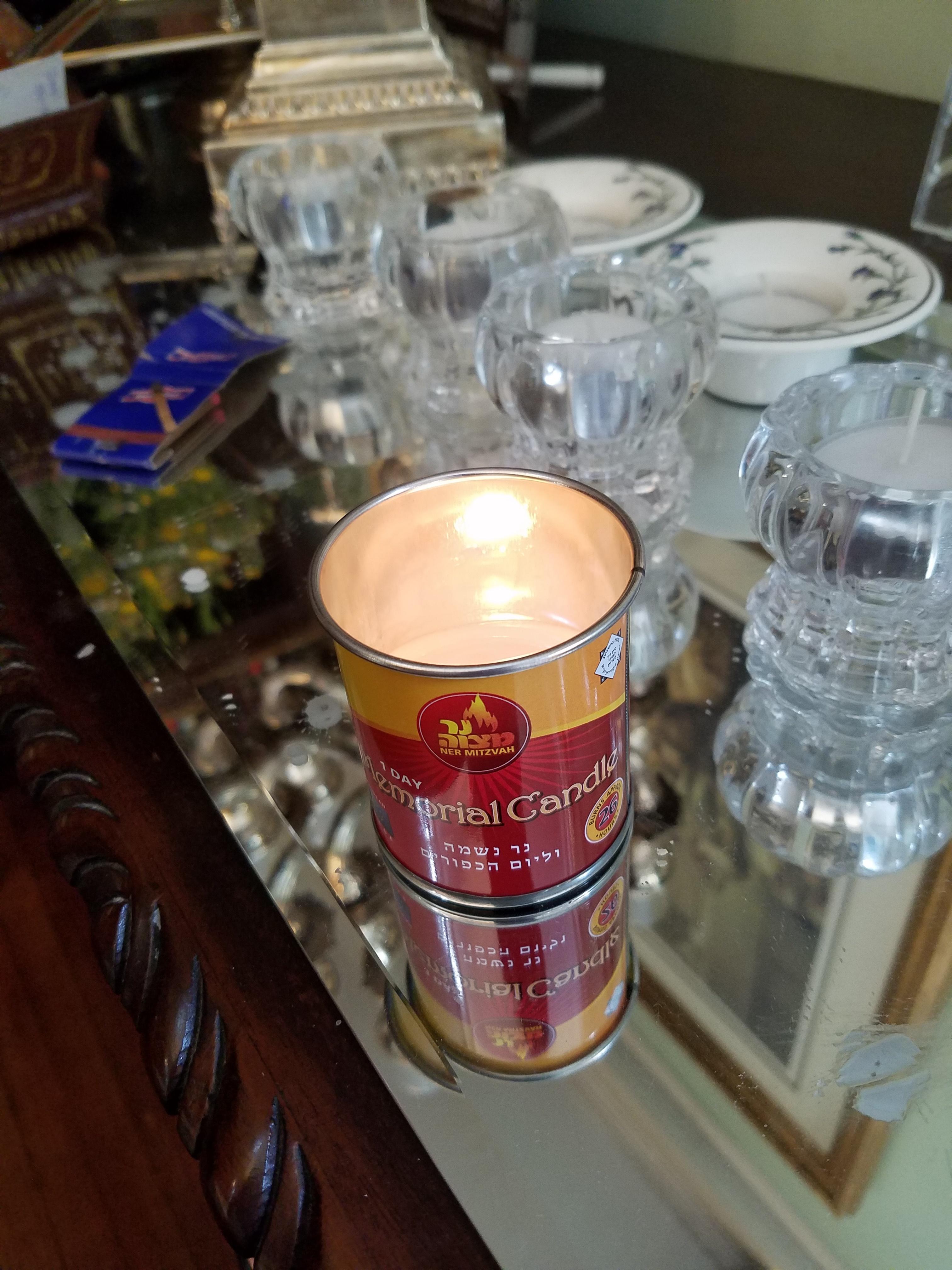 A Tefillah When Lighting Yartzeit Candles