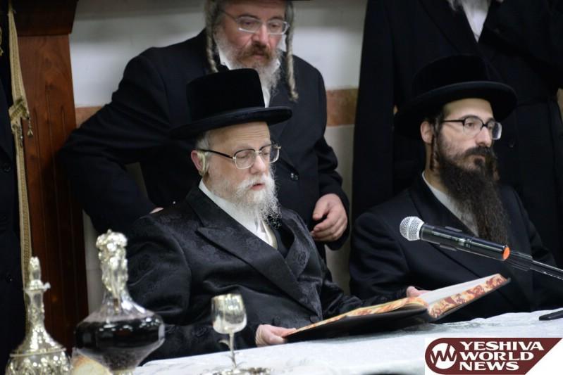 Seret-Vishnitz Rebbe Released From The Hospital