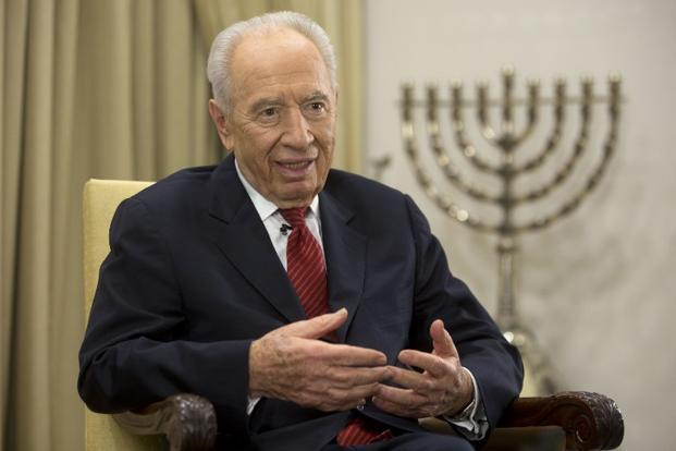 Shin Bet Statement On The Passing Of Former President Shimon Peres