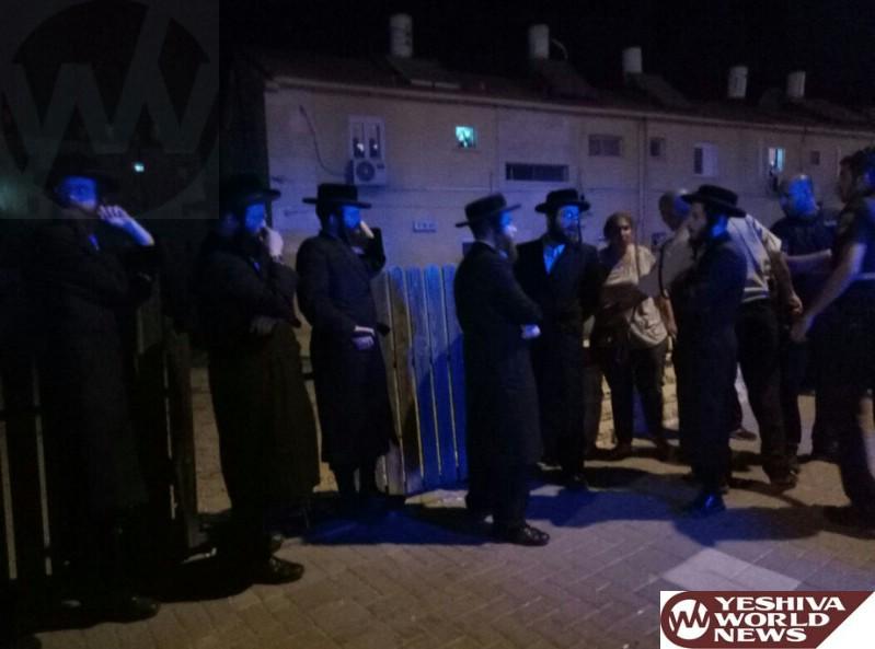 PHOTOS: Protest Against Kiryat Gat Chief Rabbi Moshe Havlin