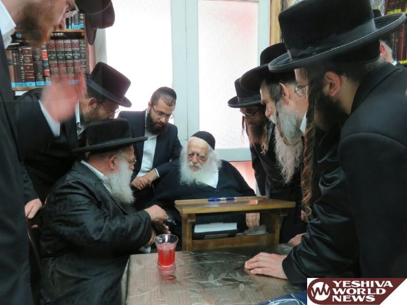 Photo Essay: Makava Rov Visiting Hagaon HaRav Chaim Kanievsky Shlita (Photos by JDN)