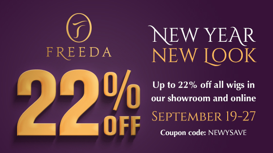New Year, New Look – Enjoy Up To 22% Off Freeda WIGS