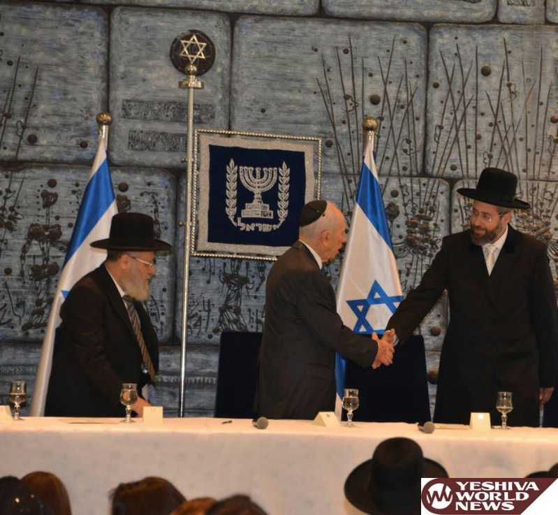 Chief Rabbi Of Israel Dovid Lau On The Passing Of Former President Shimon Peres