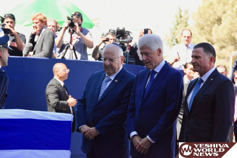 PHOTOS: World Leaders Gather To Pay Last Respects To Shimon Peres At Knesset
