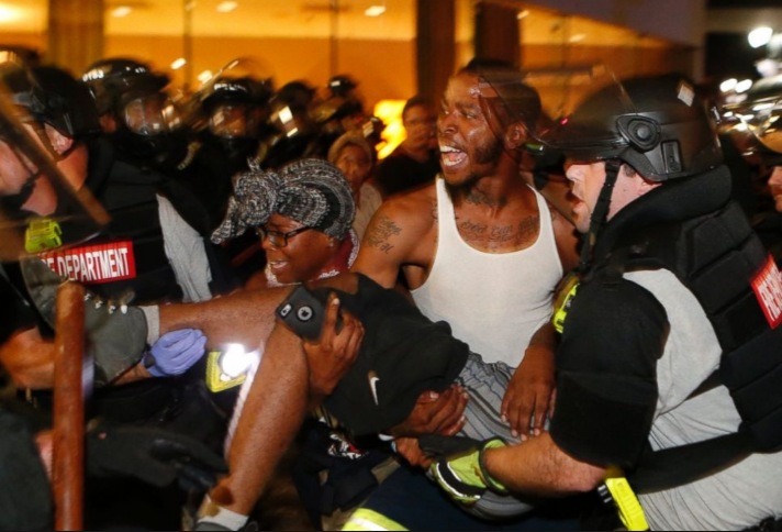 Man shot during Keith Scott protest in Charlotte dies at hospita