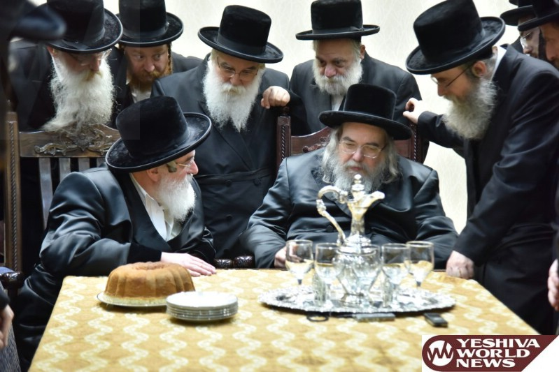 Photo Essay: Visnitz Rebbe Visiting The Belzer Rebbe Ahead Of The Yomim Norayim (Photos by JDN)