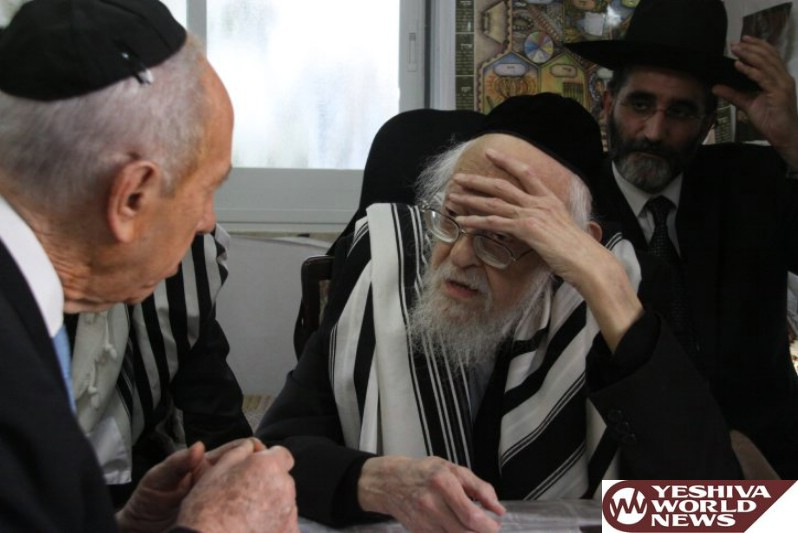 Agudath Israel Of America: Peres Displayed Great Respect For Orthodox Jewish Community And Its Rabbinic Leaders