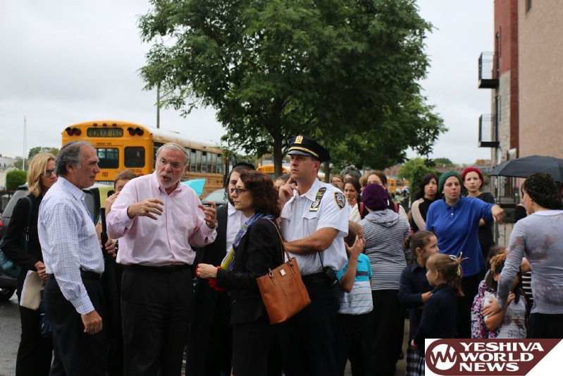 PHOTOS: HIkind Takes NYC DOT Commissioner On Tour Of Community To Address Safety Concerns
