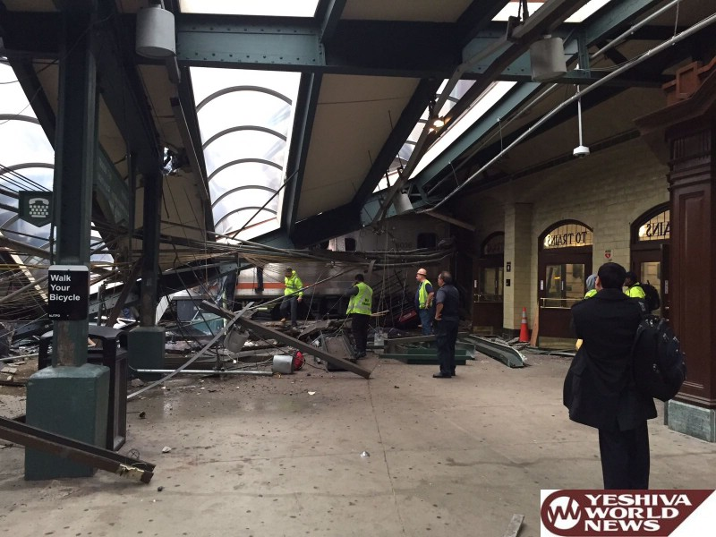 Commuter Train From Spring Valley Slams Into Hoboken New Jersey Station; 1 Dead, 74 Hospitalized [PHOTOS]
