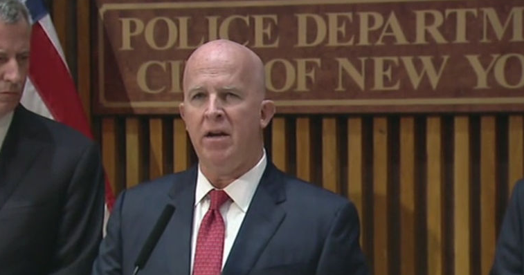 NYPD Commissioner O'Neill Blasts Justice Dept For Ignoring Facts On NYC Crime
