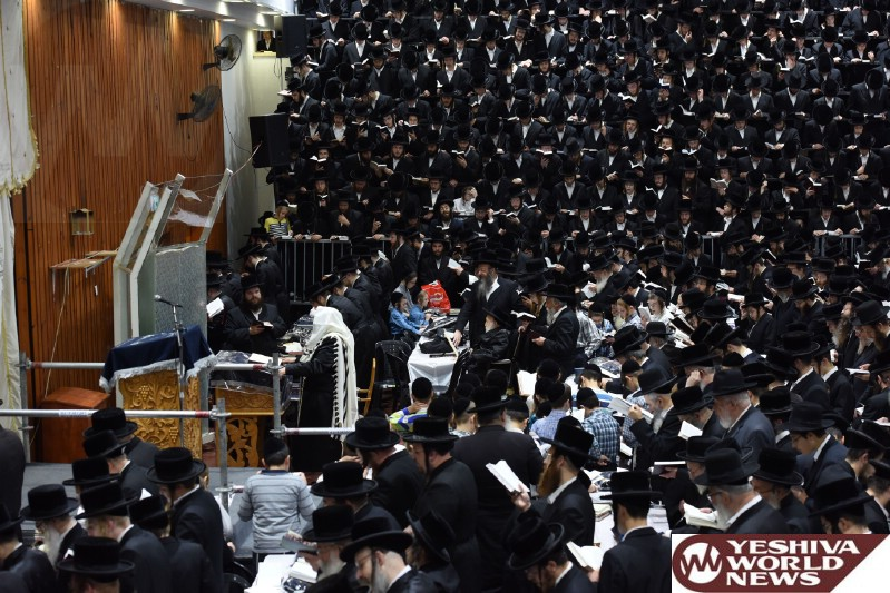Photo Essay: The First Day Of Selichos 5776 By The Sanzer Rebbe (Photos by JDN)
