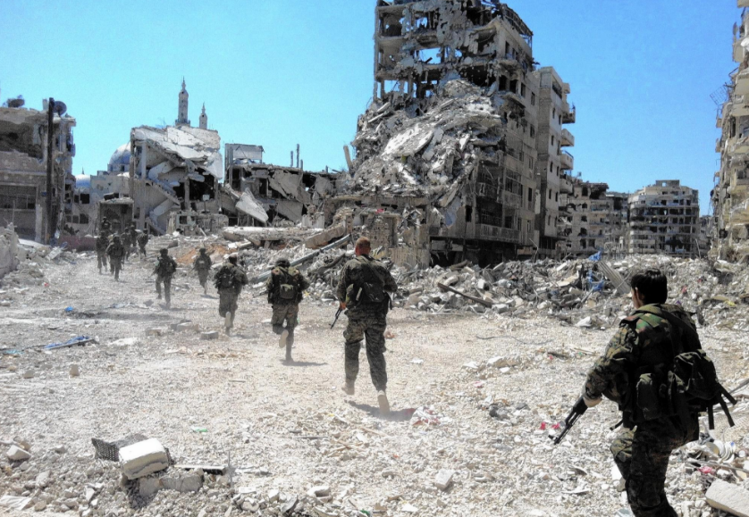 23 militants killed in Syria blast