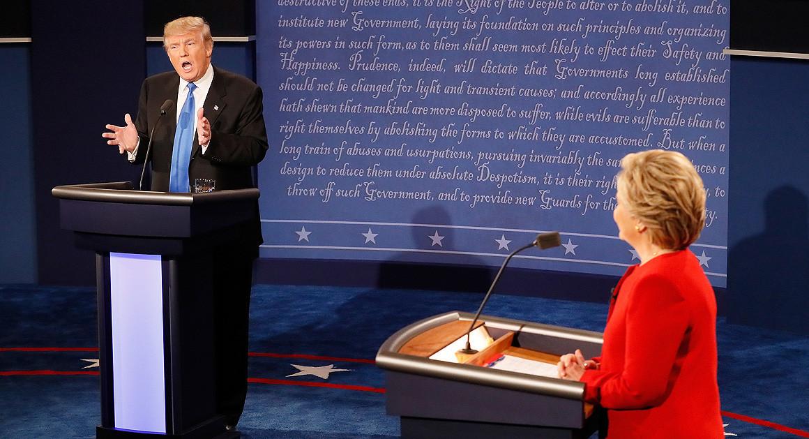 Debate Takeaways: Clinton Gets Under Trump's Skin In Debate
