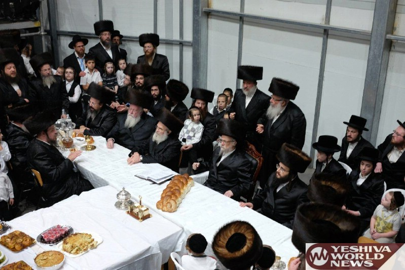 Photo Essay: Sukkos 5777 By The Seret Visnitz Rebbe (Photos by JDN)