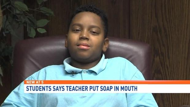 Teacher Washed Out Boy's Mouth With Soap After He Argued