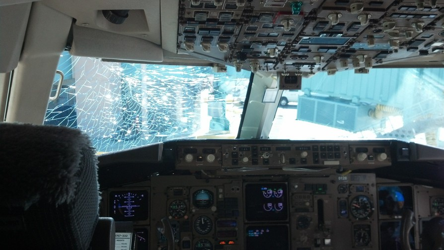 Windshield Crack: Austrian Flight Makes Unscheduled Landing