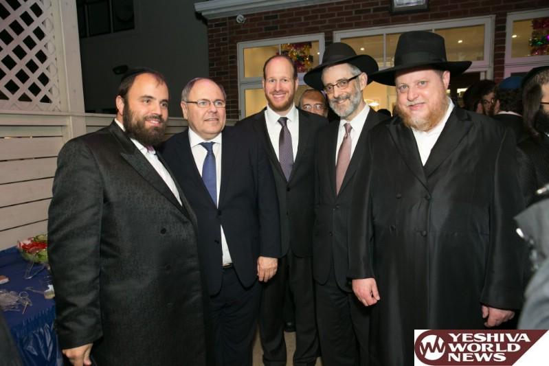 PHOTOS: Greenfield Hosts Israeli Ambassador at Annual Sukkos Celebration in Boro Park