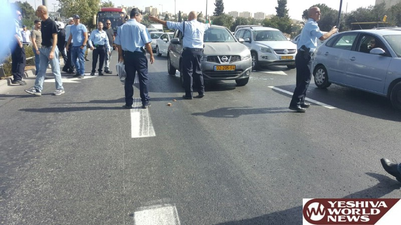 Shooting near police HQ in Jerusalem wounds 8