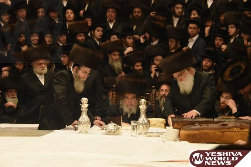 Photo Essay: Sukkos 5777 By The Belzer Rebbe (Photos by Anshil Beck and Shuki Lerer - JDN)