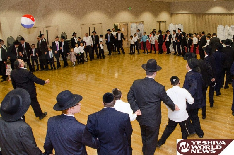 Photo Essay: Simchas Beis Hashoeiva 5777 In Baltimore (Photos by Jeff Cohn - JDN)
