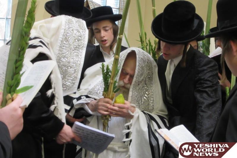 Photo Essay: Admorim And Rabbonim On Sukkos 5777 - Part 1 (Photos By JDN)