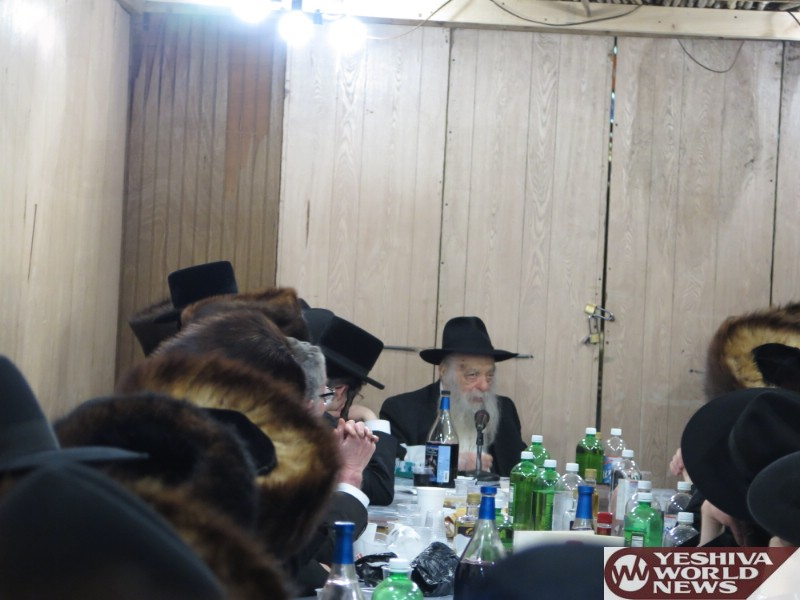 Photo Essay: Hagaon HaRav Yoel Kohen Of Chabad By Simchas Beis Hashoeiva 5777 In Boro Park (Photos by JDN)