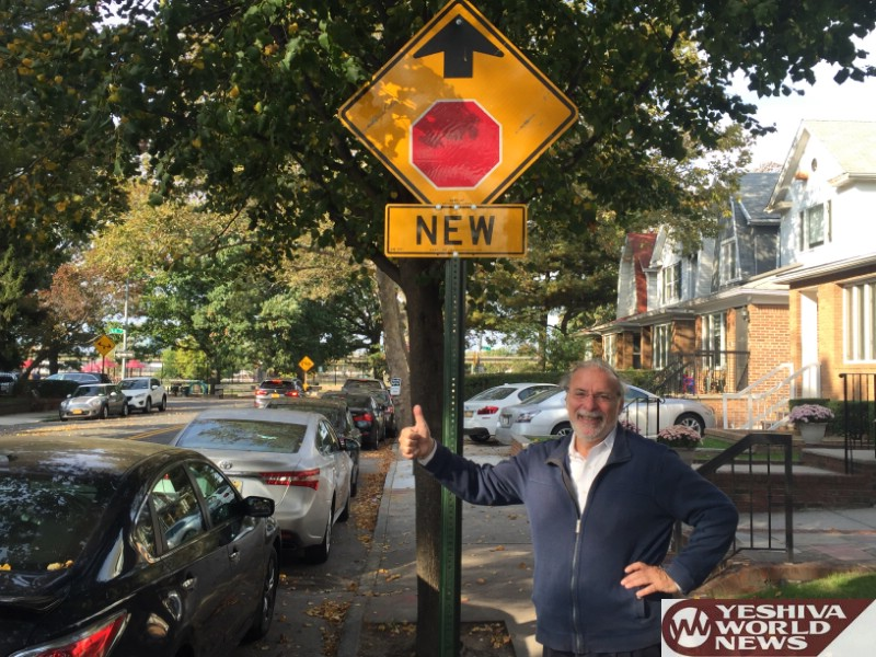 Hikind Praises NYC Dot Commissioner Trottenberg For Installing New Traffic Signage In Front Of Friends Field
