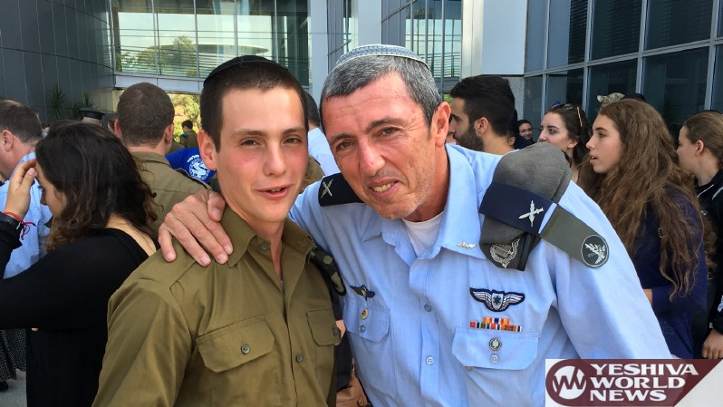 VIDEO/PHOTOS: DM Lieberman To Chareidi Soldier: I Also Speak With A Russian Accent