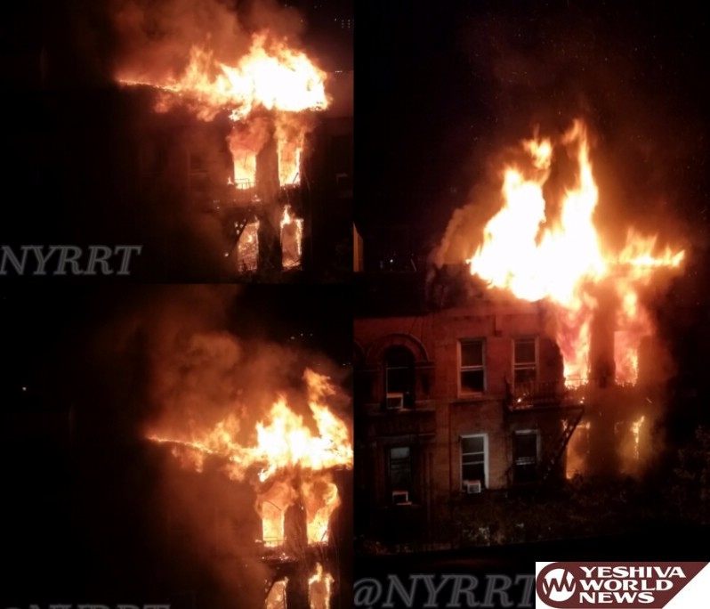 VIDEO: NYC Firefighter Stages Dramatic Rescue in Fatal Blaze