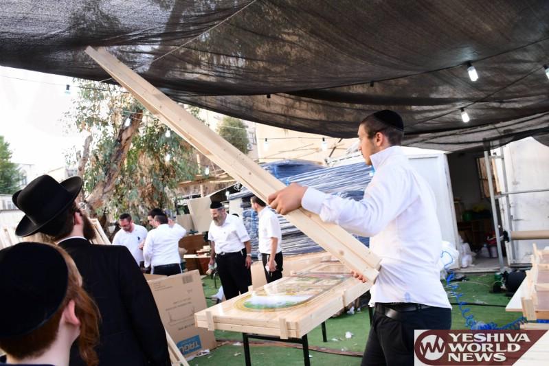 Photo Essay: Erev Sukkos 5777 In Bnei Brak (Photos by JDN)