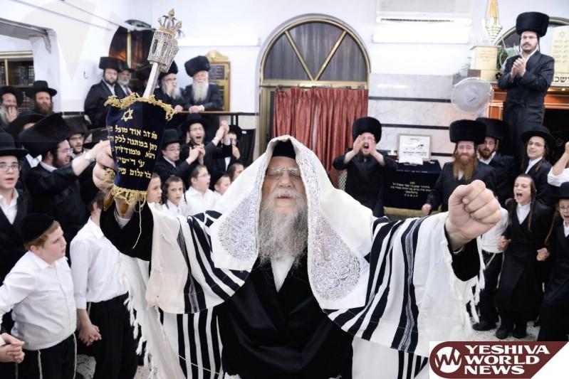 Photo Essay: Sukkos 5777 By The Modzitzer Rebbe (Photos by JDN)