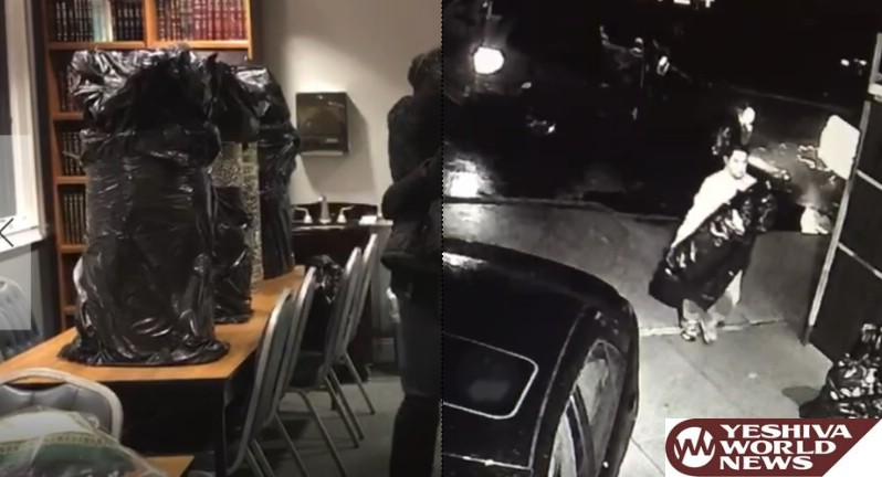 VIDEO: 4 Stolen Sifrei Torah Returned By Mysterious Individual Overnight - Police Still Searching For Suspect