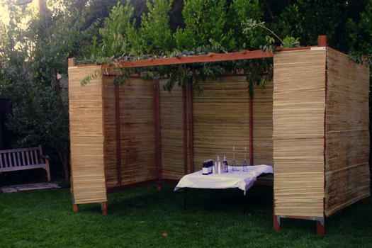 To Eat in the Sukkah or Not to Eat in the Sukkah on SA.. That is the Question