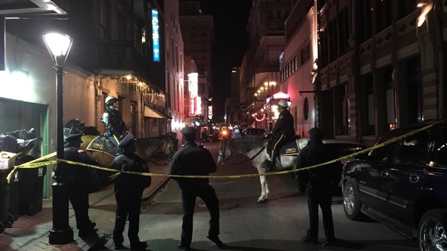 New Orleans Police say shooting leaves 1 dead, 9 injured